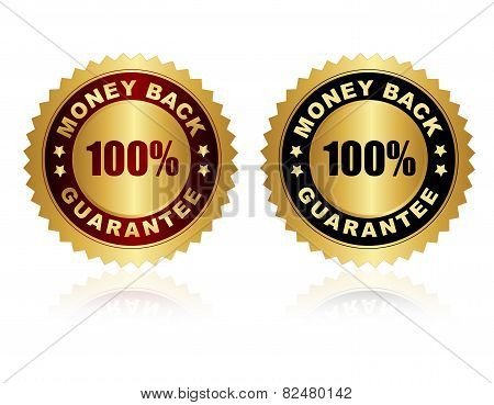Money Back Guarantee Stamps