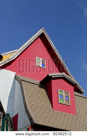 Antique Colorful Roof Windows Collection