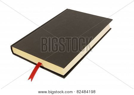 Plain Black Hardback Book