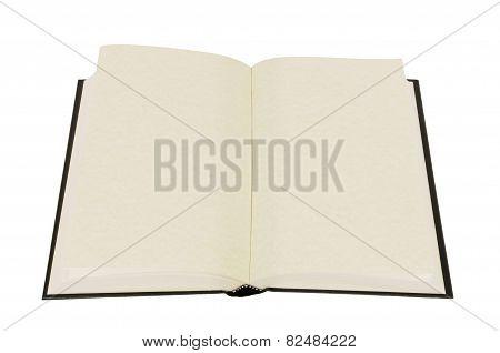 Open Blank Hardback Book