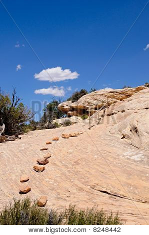 Trail To Horse Collar Ruins