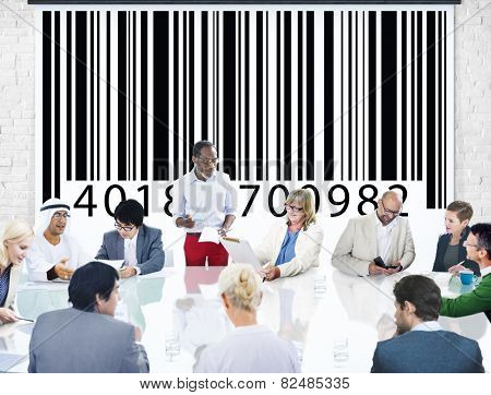 Bar Code Identity Marketing Concept