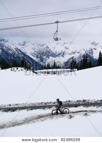 Mountain Biking on Whistler Mountain