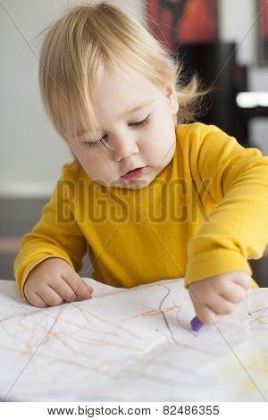 Baby Painting Sheet
