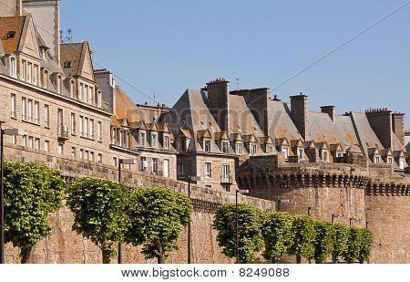 Walls Of St. Malo