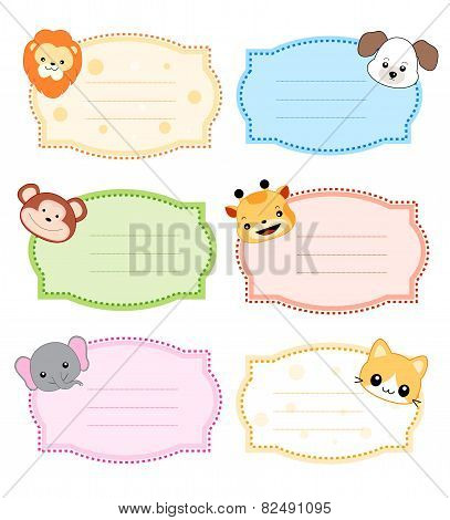 Printable Kids Name Tags