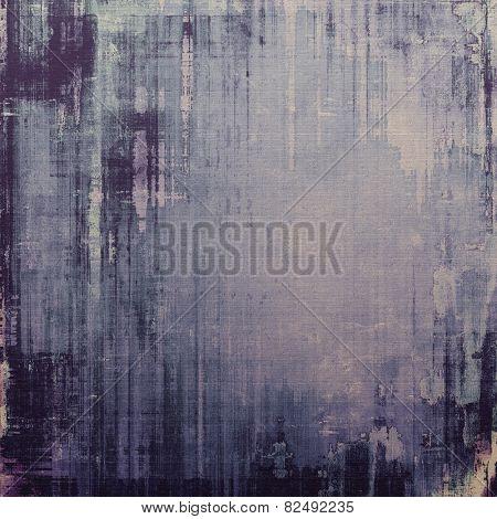 Grunge retro vintage texture, old background. With different color patterns: blue; gray; black; purple (violet)