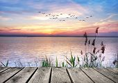 stock photo of rest-in-peace  - Lake of Dreams - JPG