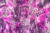 picture of leopard  - texture of print fabric stripes leopard for background - JPG