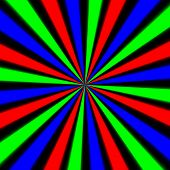 pic of trippy  - Abstract crazy colorful background on black background - JPG