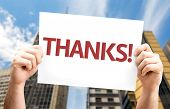 foto of give thanks  - Thanks - JPG