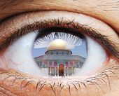picture of aqsa  - Closeup of human eye - JPG