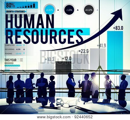 Human Resources Hiring Job Accupation Concept