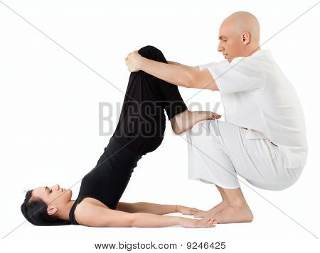 Massage In Thai Position