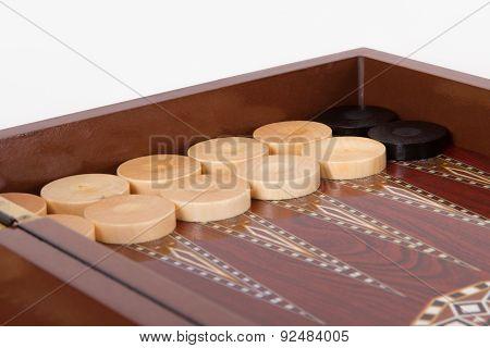 Stucked Backgammon Chips