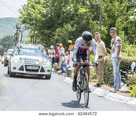 The Cyclist Jan Barta - Tour De France 2015