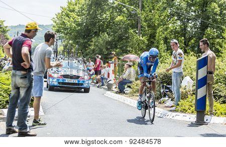 The Cyclist Johan Vansummeren - Tour De France 2015