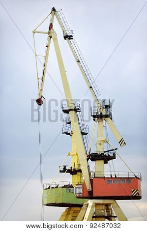 Industrial Shipping Cranes For Containers