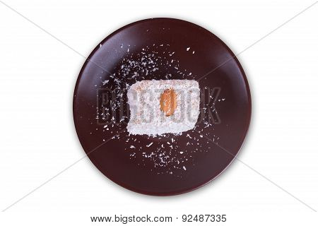 Turkish Delight In Brown Bowl