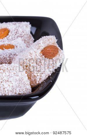 Turkish Delights In Black Bowl