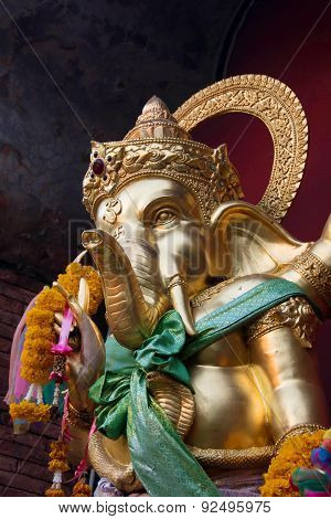 Ganesha against