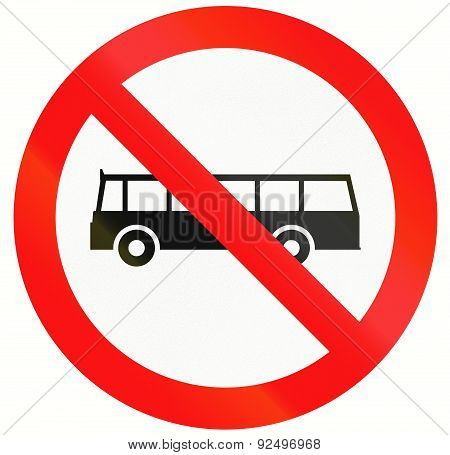No Buses In Indonesia