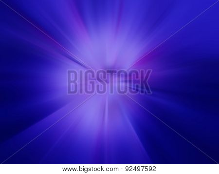 Purple Flash On A Blue Backgrounds