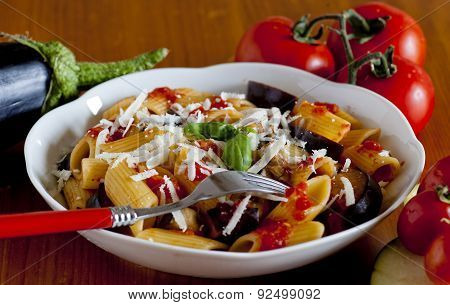 Typical Italian Food: Sicilian Pasta, Called