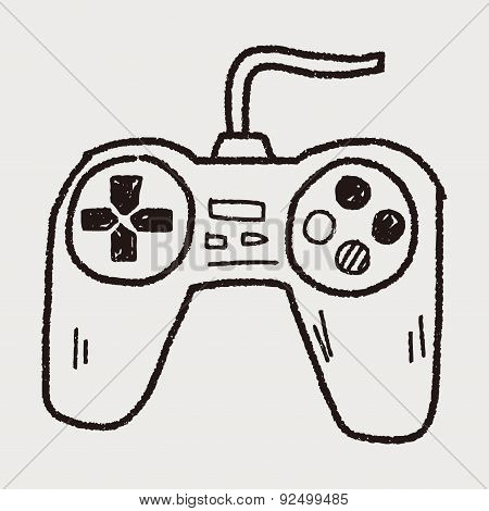 Game Controller Doodle