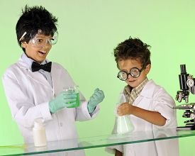 picture of mad scientist  - Two  - JPG