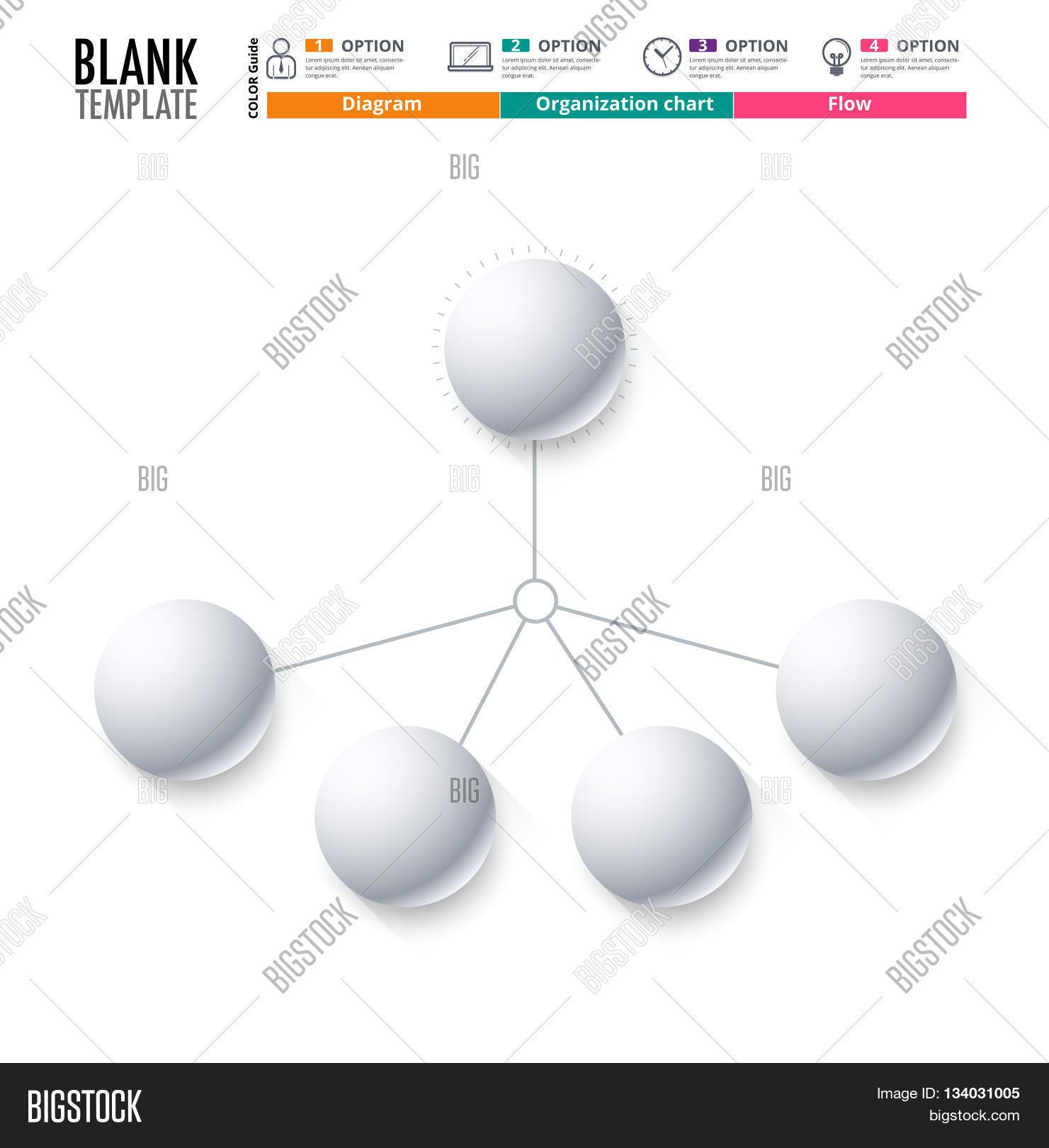diagram template organization vector photo bigstock. Black Bedroom Furniture Sets. Home Design Ideas