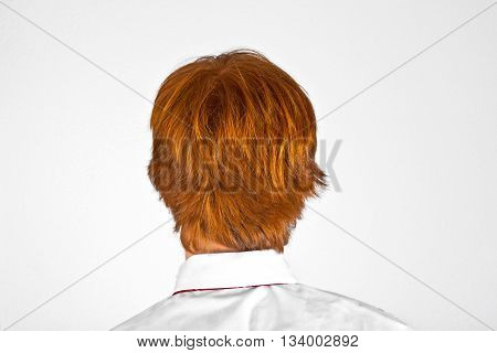 Head Of Boy From Behind