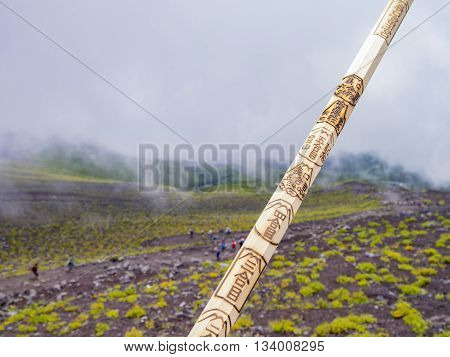 Hiking In The Famous Mount Fuji