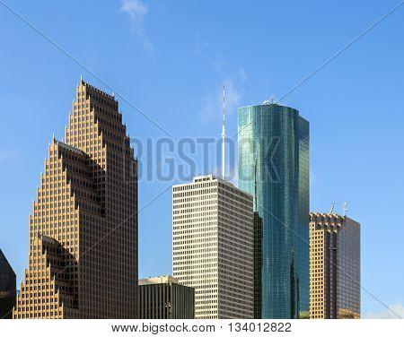 View On Downtown Houston