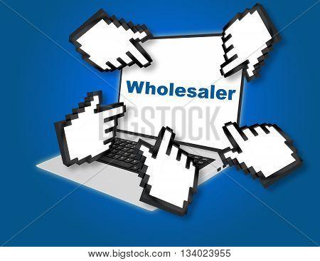 Wholesaler Business Concept