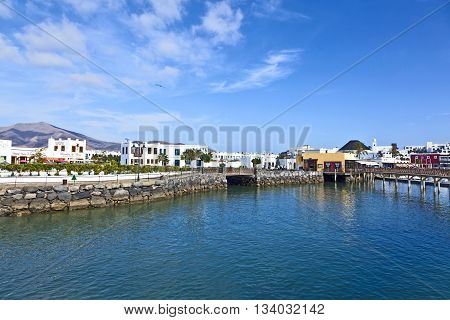 New Harbor In Playa Blanca