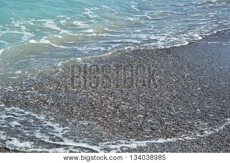 Sea Beach Blue Waves Ocean Sand Shells Summer 1