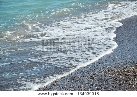 Seashore Blue Water Waves Ocean Sand Shells Summer 3