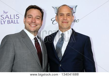 LOS ANGELES - JUN 11:  Hank Steinberg, Brian Robbins at the 15th Annual Chrysalis Butterfly Ball at the Private Residence on June 11, 2016 in Brentwood, CA