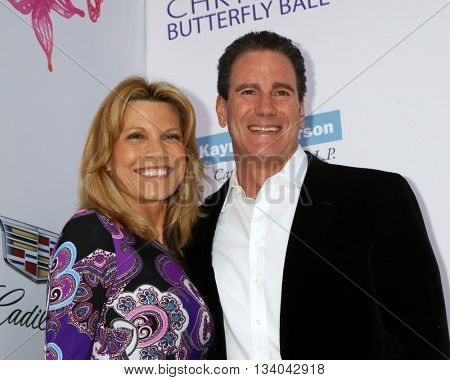 LOS ANGELES - JUN 11:  Vanna White, John Donaldson at the 15th Annual Chrysalis Butterfly Ball at the Private Residence on June 11, 2016 in Brentwood, CA