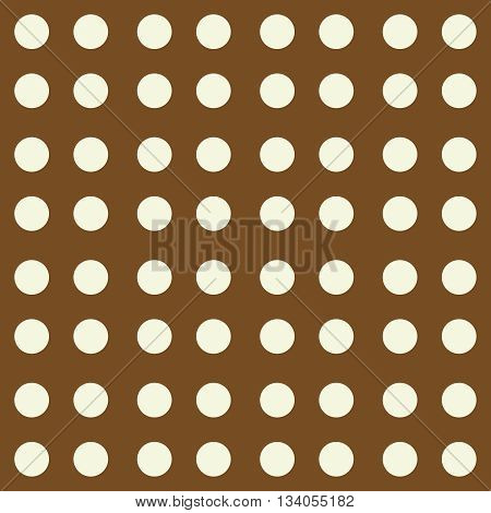 Seamless pattern, vintage style. Abstract geometric background with dots. Vector pattern for wrapping, textile, carpet, paper or other printing products