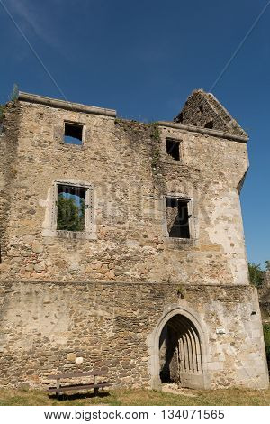 medieval knight castle ruin Schaunberg - Austria