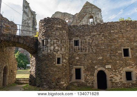 worth seeing medieval castle ruin Schaunburg - Austria
