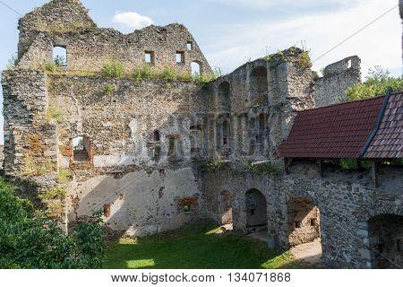 Medieval castle Schaunberg - destination in Austria