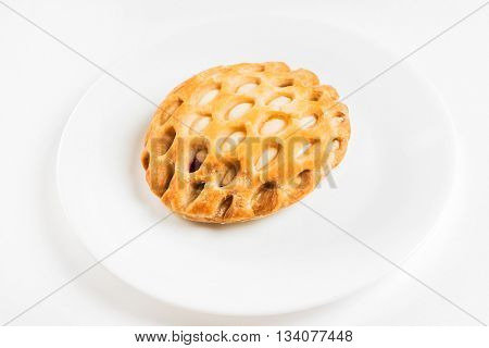 puff pastry with cottage cream