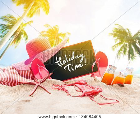 Holiday Time Summer Day Accessories Chalk Board