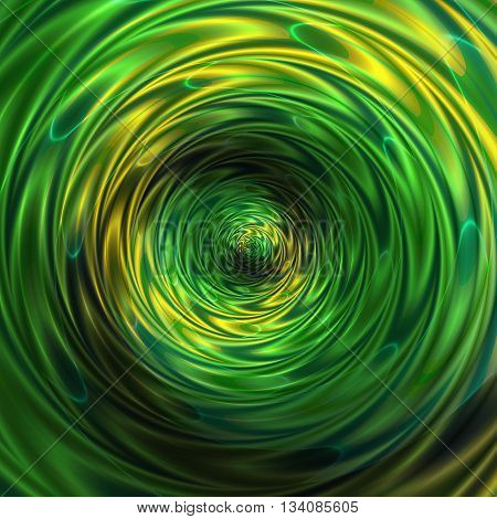 Abstract background of intertwining concentric rippling pattern creating an illusion of movement