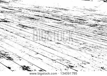 Wooden Planks distress overlay texture for your design. EPS10 vector.