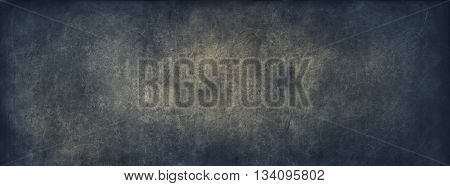 Blue Blackboard Chalk School Vintage Background