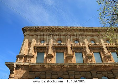 palace of Charles Quint , Alhambra, Grenada , spain